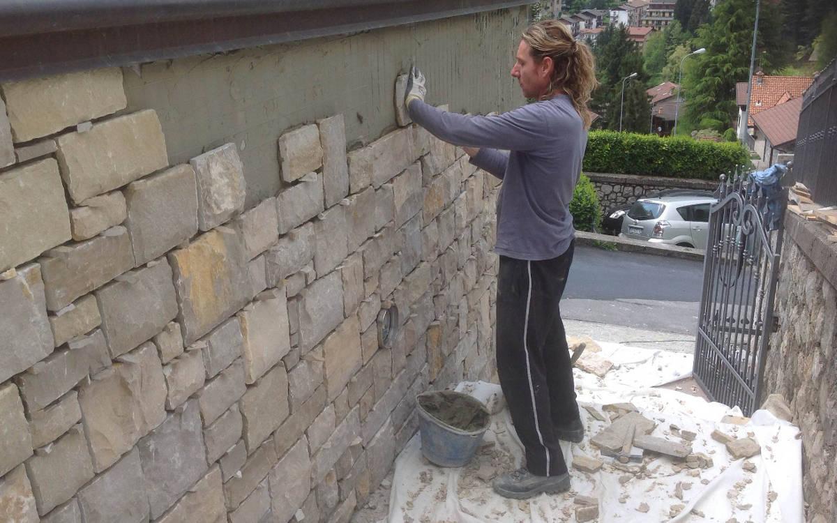 Pietra di credaro e pietre naturali prezzi lavorazione e posa - Pietra a vista per esterni ...
